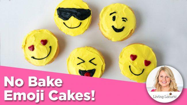 Emoji Cakes Recipe