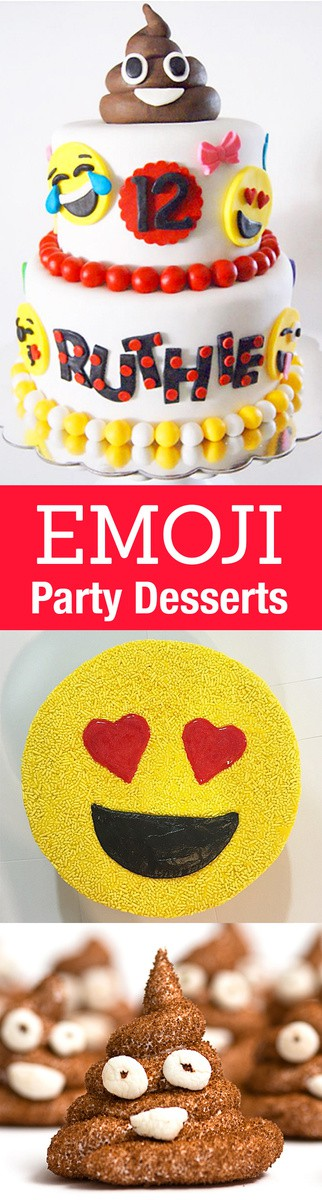 These Are The Best Emoji Cakes And Dessert Inspiration For An Party From Birthday Graduation Parties To School Events Theme Is