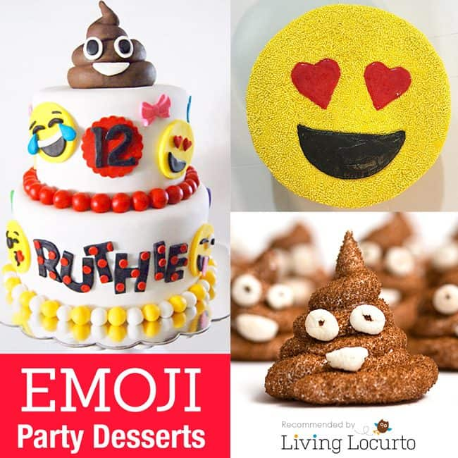 Emoji cake ideas and dessert inspiration for an Emoji Party. The Best Emoji Cakes. From birthday and graduation parties to school events, an emoji party theme is fun for all! LivingLocurto.com