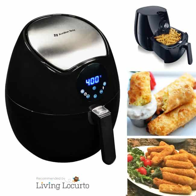 I want this Air Fryer! Make fast and easy crispy food without all of the fat and only a tiny bit of oil.