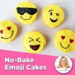 Easy Emoji Cakes