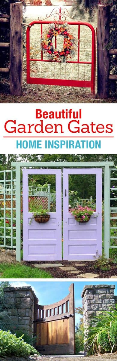 beautiful garden gates home inspiration