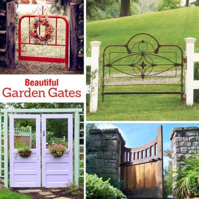 Beautiful Garden Gates! Home Inspiration
