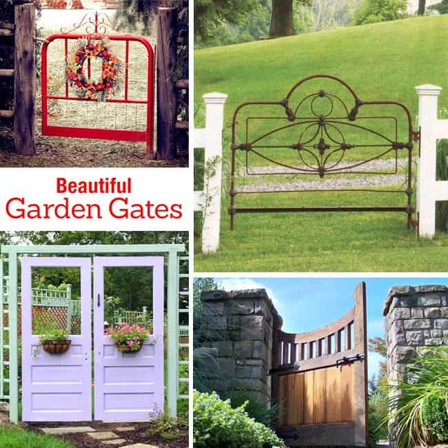 Home Inspiration: Beautiful Garden Gates! Home Inspiration