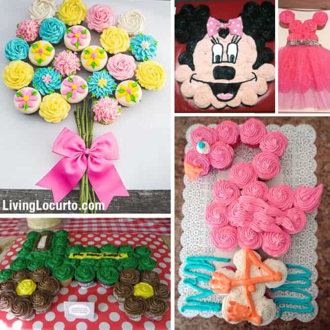 Best Birthday Cupcake Cakes Pull Apart Cake Ideas