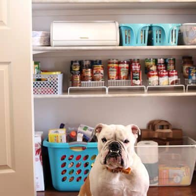 Kitchen Pantry Organization Makeover |Free Printable Labels