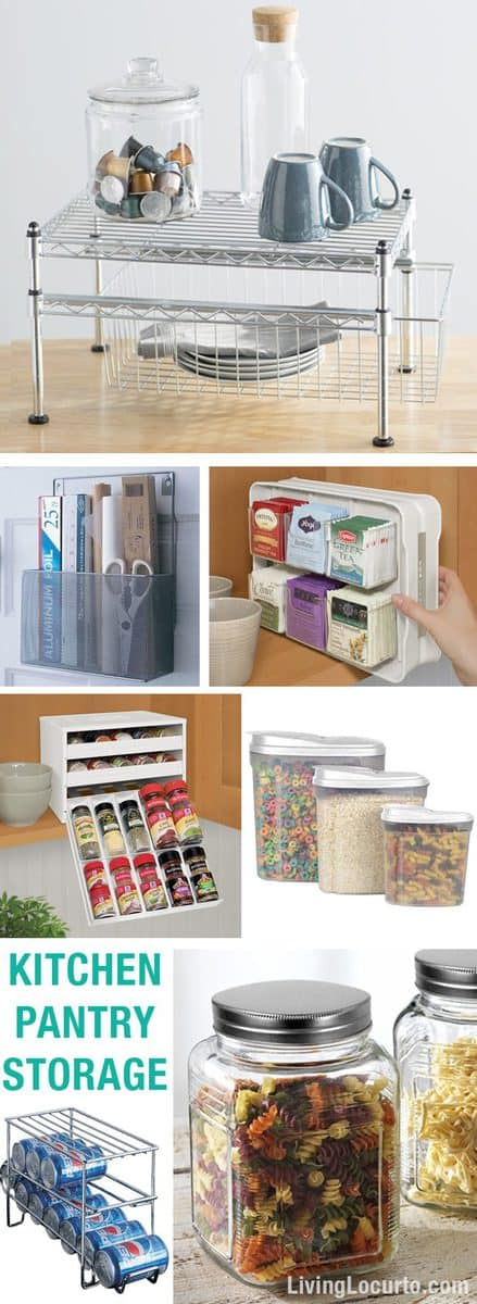 Kitchen Pantry Organization Ideas Free Printable Labels