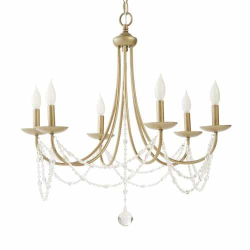 Beautiful Light for a girls bedroom! Love this Chandelier.
