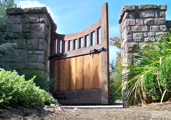 Reclaimed Wood Gate