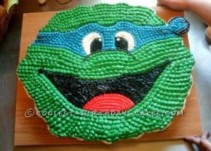 Ninja Turtle - Best Birthday Pull Apart Cupcake Cakes. Simple creative cake inspiration for a birthday party celebration.