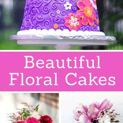 Beautiful Floral Cakes