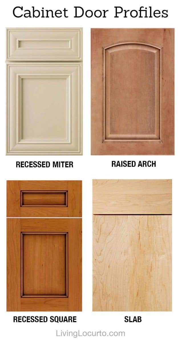 kitchen cabinet door profiles 6 tips for choosing the kitchen cabinets 18575