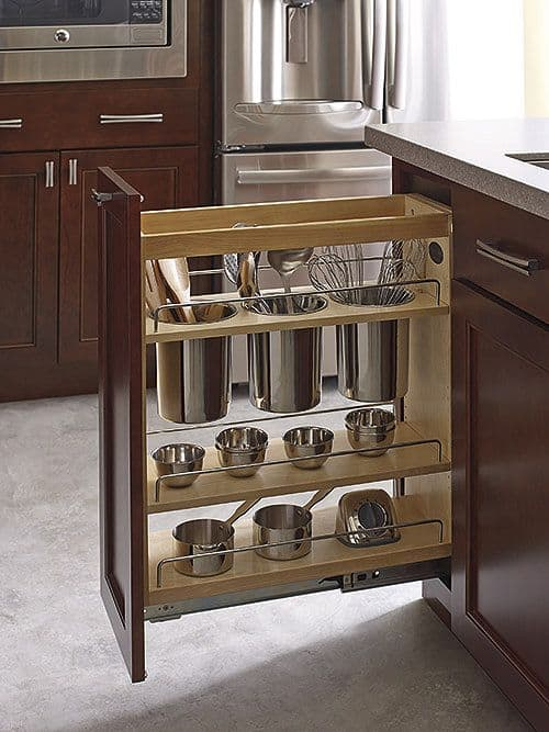 Merveilleux Kitchen Pantry Untensil Pull Out   How To Choose The Perfect Kitchen  Cabinets! Whether You
