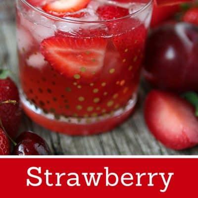 Strawberry Plum Rose Sangria Recipe