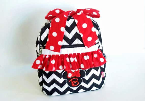 I love this adorable Minnie Mouse Backpack!