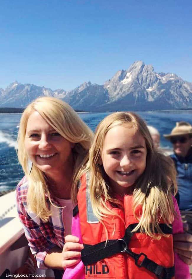 Grand Tetons - Jackson Lake Family Cruise - Amy Locurto Travel Blogger
