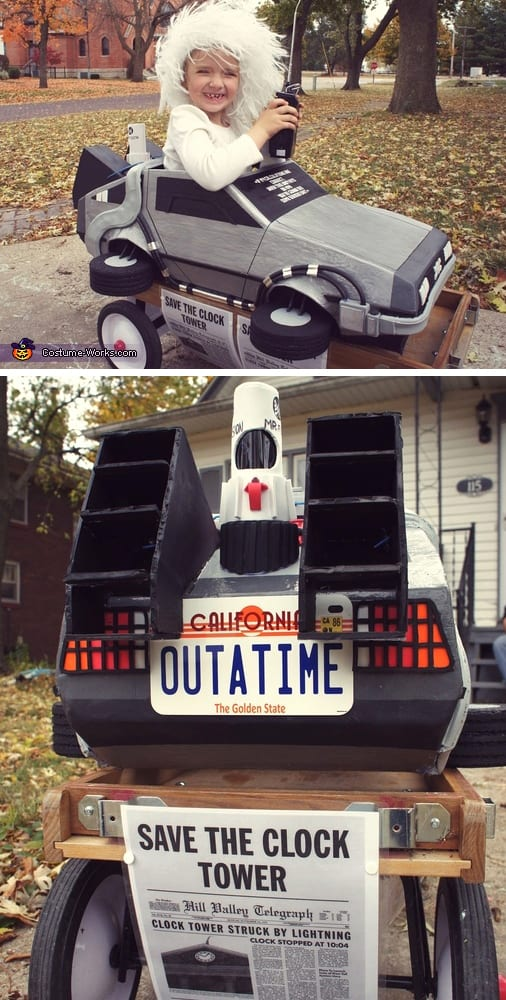 Back to the Future Doc Brown - Cute Halloween Costumes! Over 25 of the Best DIY Halloween Ideas to inspire you on Trick or Treat night!