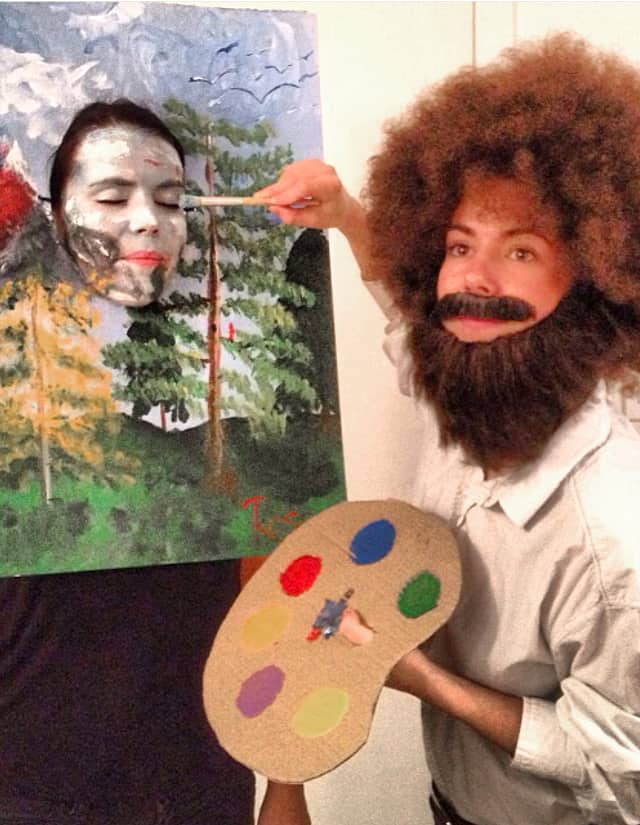 Bob Ross Painter - Cute Kids Halloween Costumes! Over 25 of the Best DIY Halloween Ideas to inspire you on Trick or Treat night!
