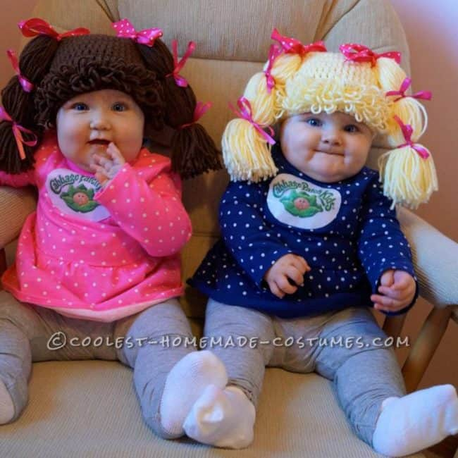 Cabbage Patch Kids - Cute Kids Halloween Costumes! Over 25 of the Best DIY Halloween Ideas to inspire you on Trick or Treat night!