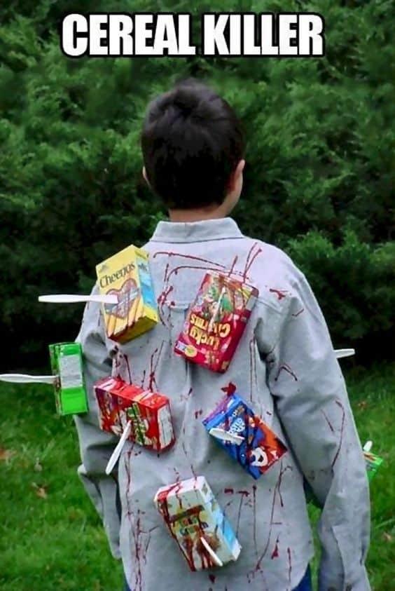 Cereal Killer Kids Halloween Costume