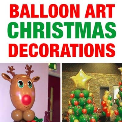 Christmas Balloon Art | DIY Holiday Party Decorations