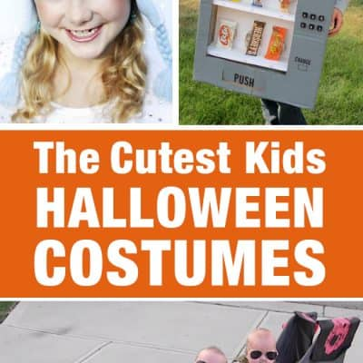 25 of the Cutest Kids Halloween Costumes