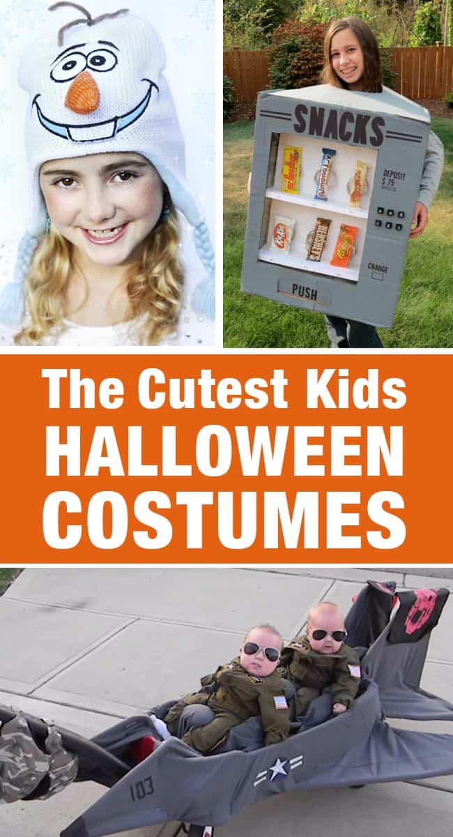 Cute Kids Halloween Costumes! Over 25 of the Best DIY Halloween Ideas to inspire you on Trick or Treat night! LivingLocurto.com