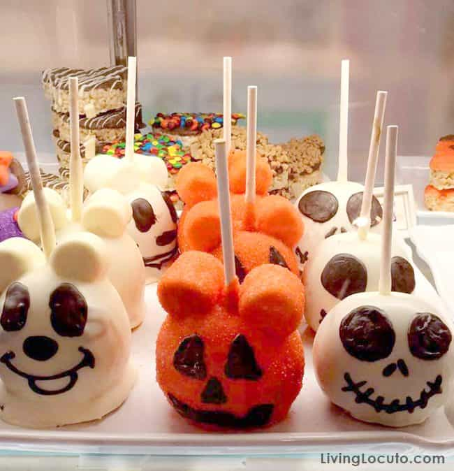 Disney World Magic Kingdom Halloween Caramel Apples