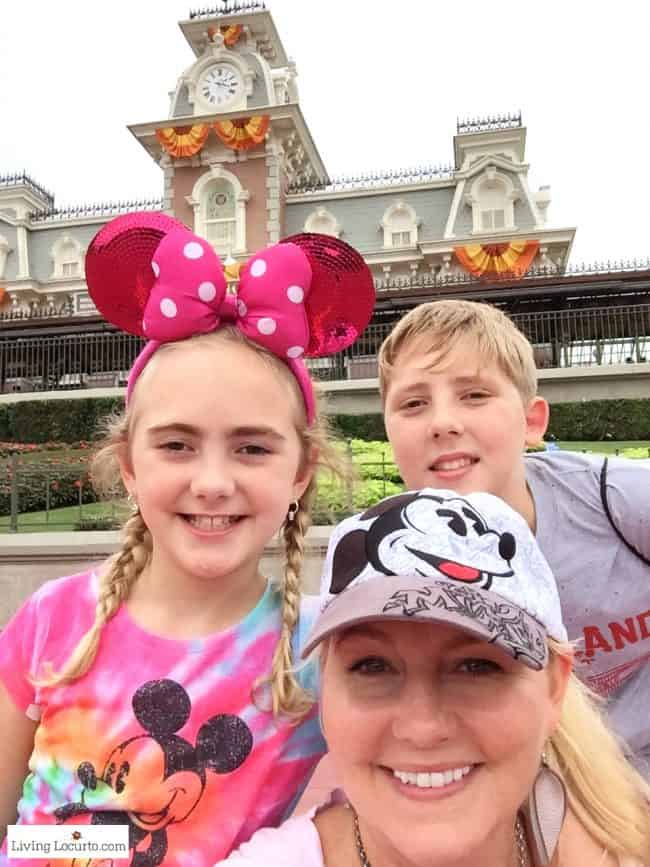 Disney World's Magic Kingdom at Halloween. Amy Locurto and the Living Locurto blog family.