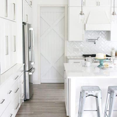 NEW White Kitchen Reveal | Before and After Photos