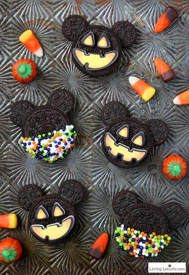 Halloween Themed Baby Shower Cookies.Mickey Mouse Halloween Cookies