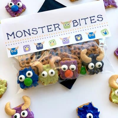 Monster Candy Pretzels