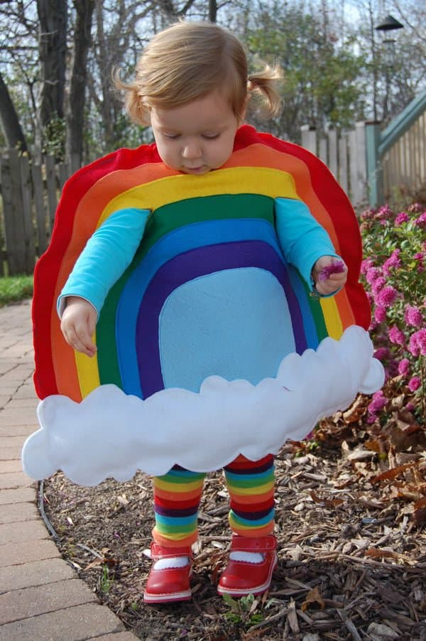 Rainbow bright. Cute Kids Halloween Costumes! Over 25 of the Best DIY Halloween Ideas to inspire you on Trick or Treat night!