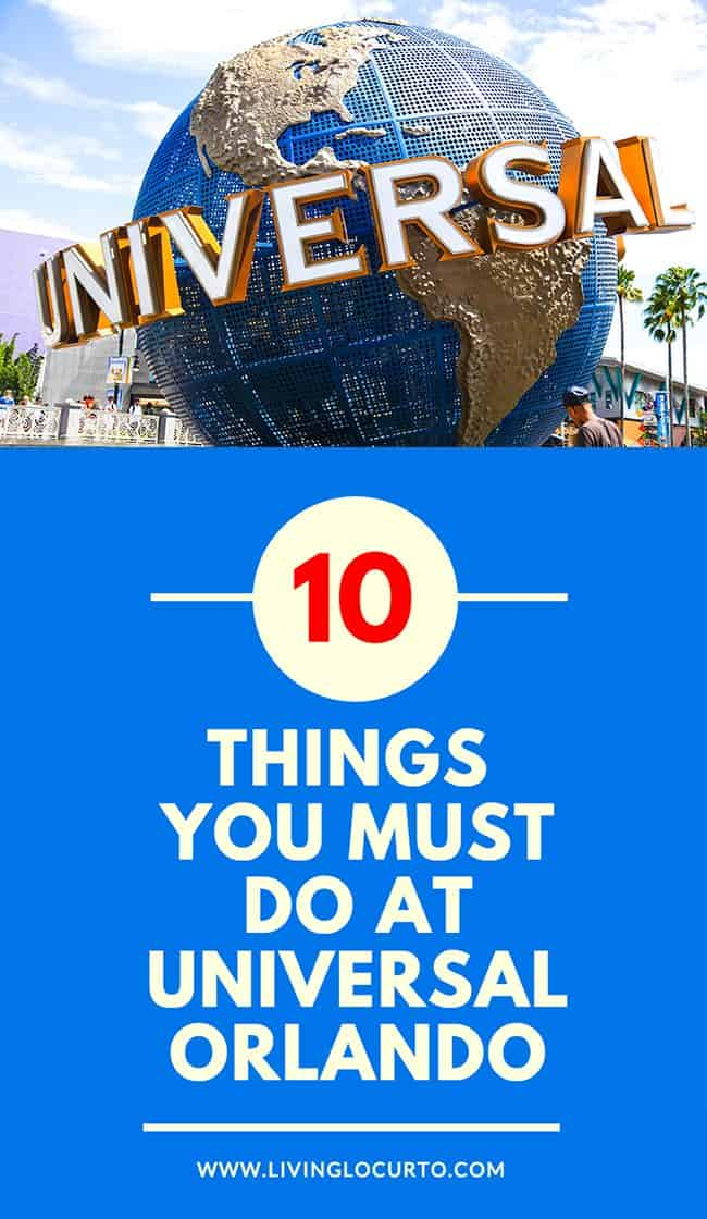 Must Do: 10 Things You MUST Do At Universal Orlando! What's New
