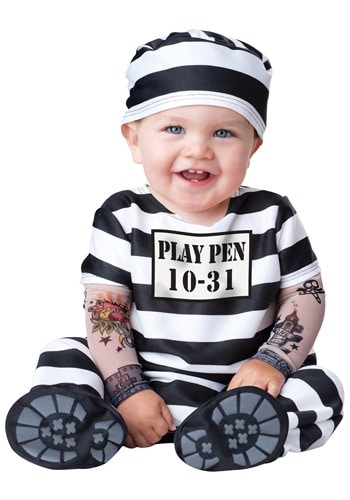 Baby Prisoner - Cute Kids Halloween Costumes! Over 25 of the Best DIY Halloween Ideas to inspire you on Trick or Treat night!