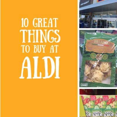 10 Great Things to Buy at ALDI
