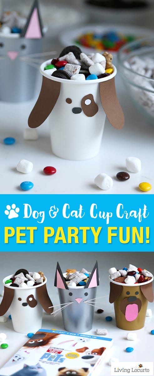 Dog Cat Paper Cup Craft
