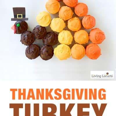 Adorable Thanksgiving Turkey Cupcakes Pull Apart Cake!