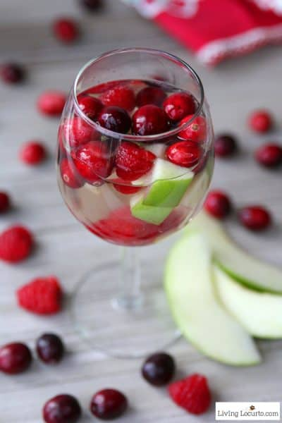 Cranberry Raspberry Sangria
