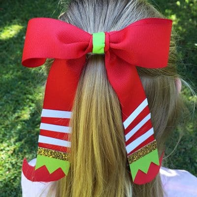 Elf Hair Bow Craft