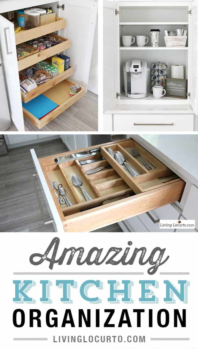 The most amazing kitchen cabinet organization ideas for Ideas organizing kitchen cabinets