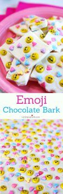 Emoji Chocolate Bark Recipe