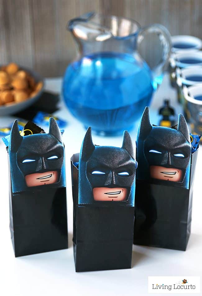 The Lego Batman Movie Diy Party Treat Bags Free