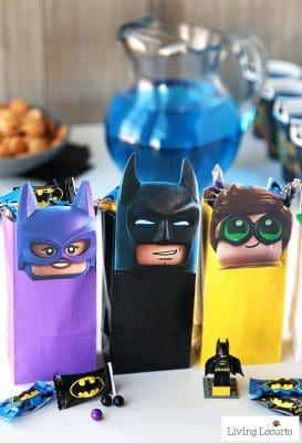 The LEGO Batman Movie Party Treat Bags | Free Printable