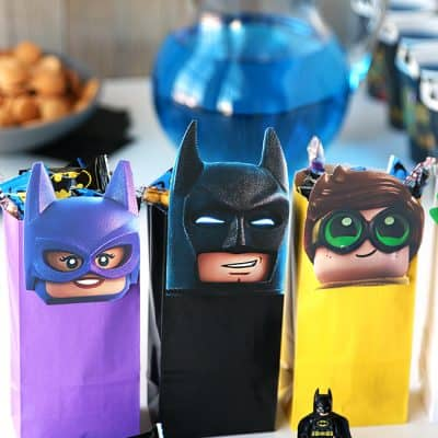 The LEGO Batman Movie Party Treat Bags | Free Printable