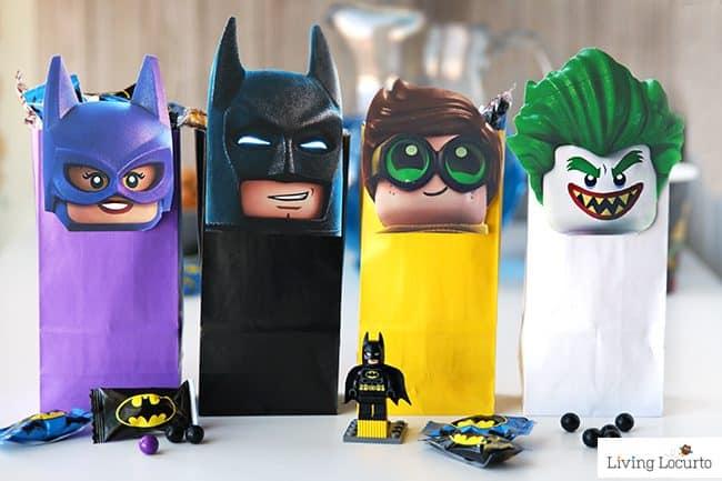 The LEGO Batman Movie DIY Party Treat Bags | Free ...
