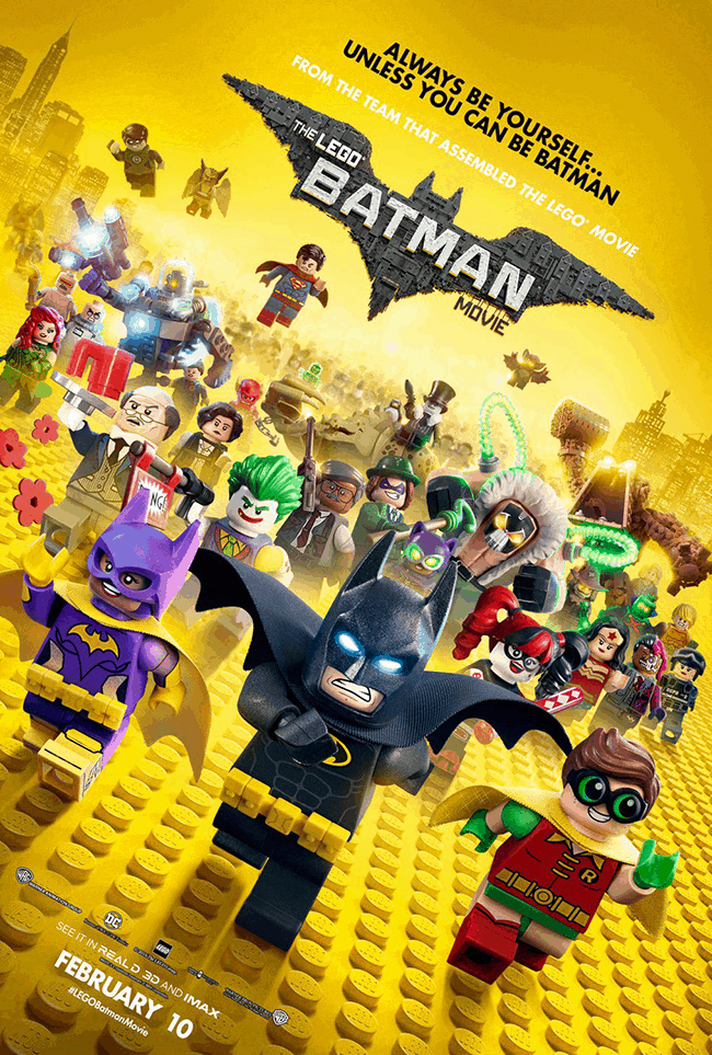 The LEGO Batman Movie Party Treat Bags Free Printable Minifigures For DIY Birthday