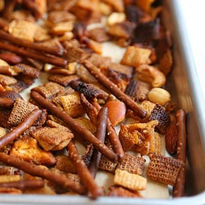 Buffalo Hot Wings Chex Mix Recipe | Football Party Food