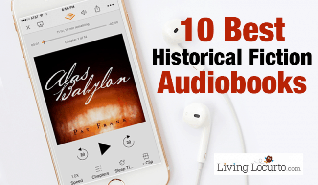 10 Best Historical Fiction Audiobooks - Living Locurto