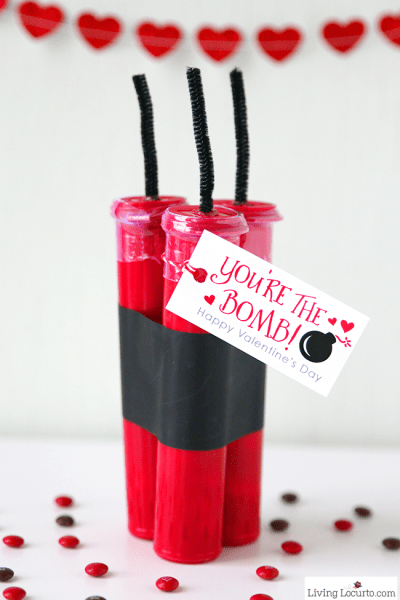 You're The Bomb! DIY Valentine's Day Candy Craft